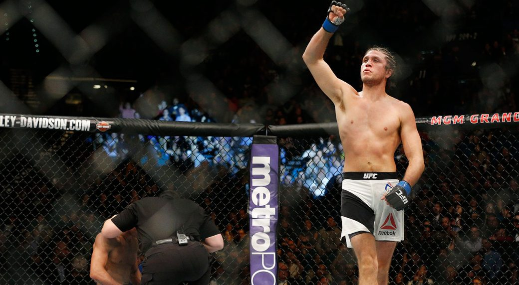 UFC-fighter-Brian-Ortega-celebrates-win