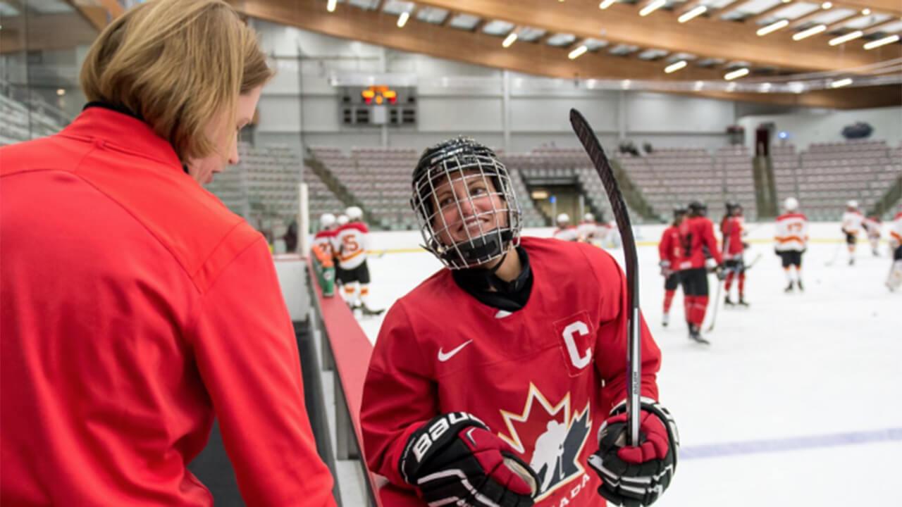 Canadian-women's-national-hockey-team-equipment-manager-Alana-Goulden