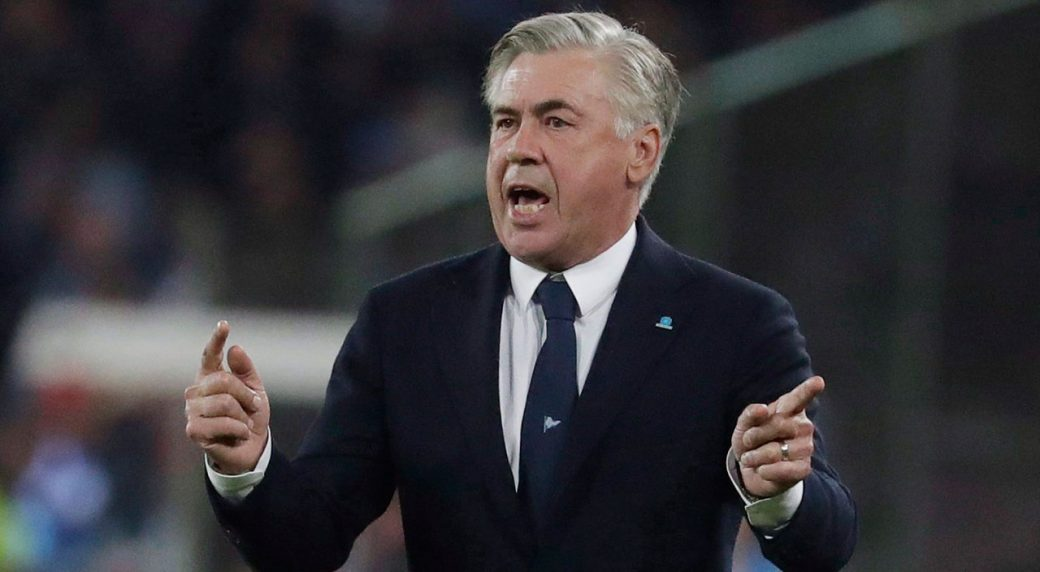 Napoli boss Carlo Ancelotti shocked by state of dressing rooms at stadium