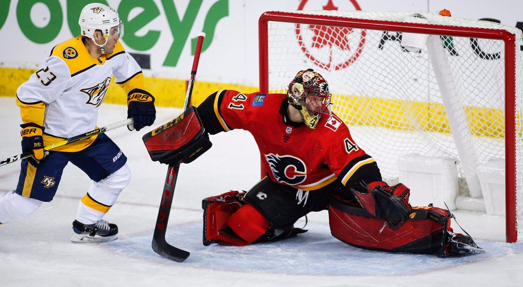 flames-mike-smith-makes-save-against-predators