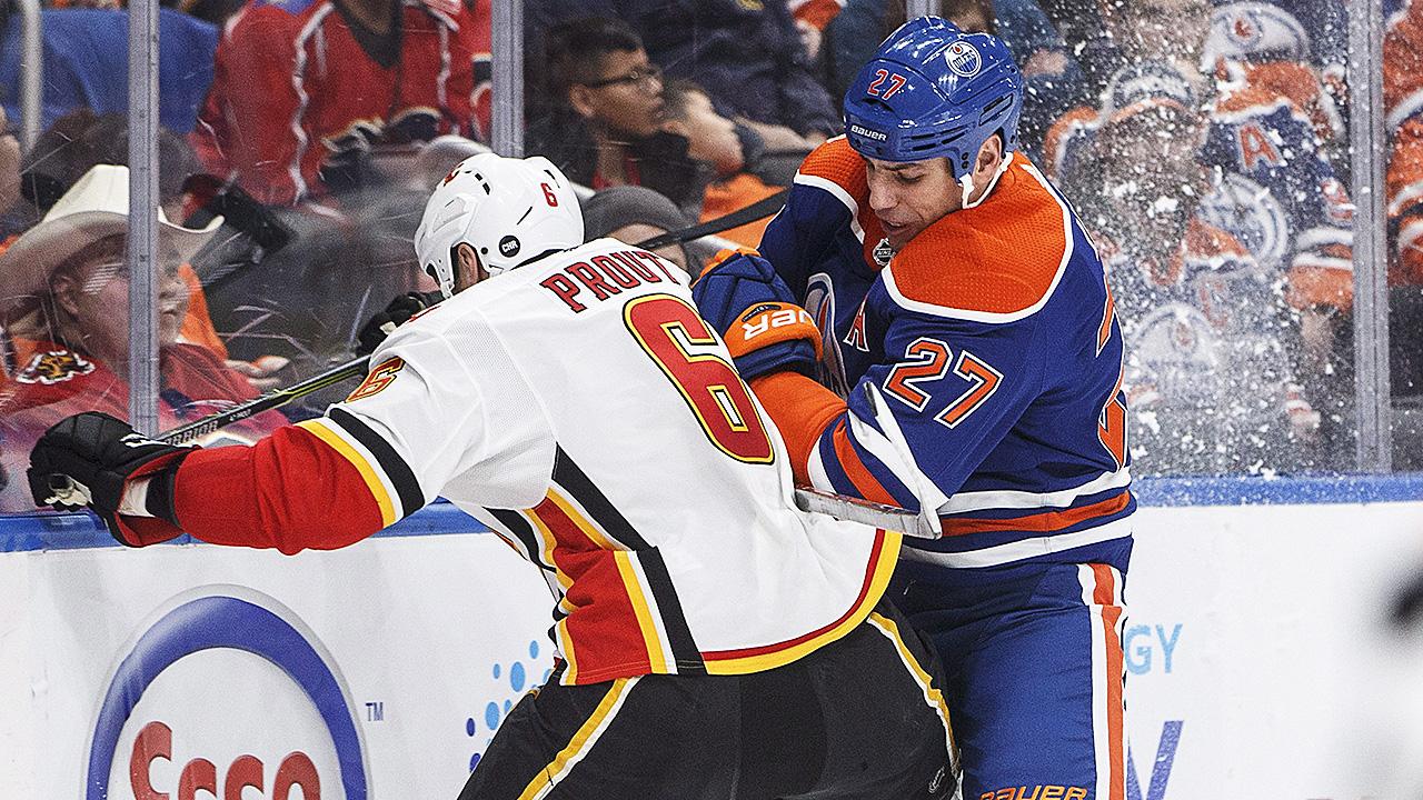 Milan-Lucic;-Edmonton-Oilers;-Battle-of-Alberta
