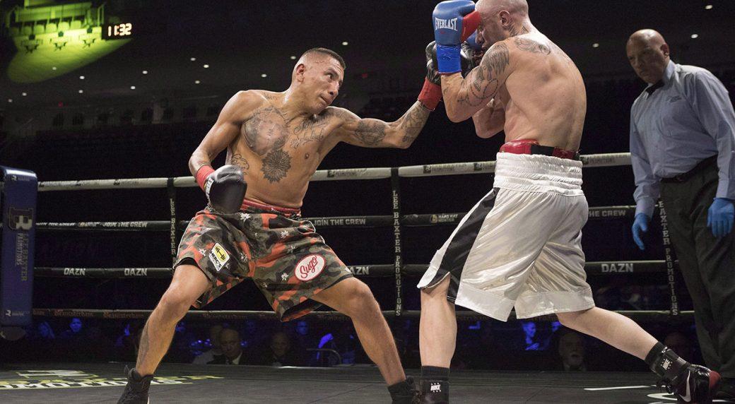 Canadian-boxer-Samuel-Vargas-punches-Gabriel-Pereiro