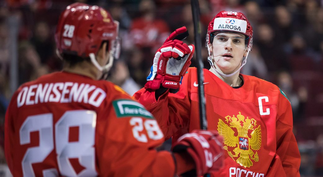 Russia Crushes Slovakia To Advance To Semifinals At World Juniors
