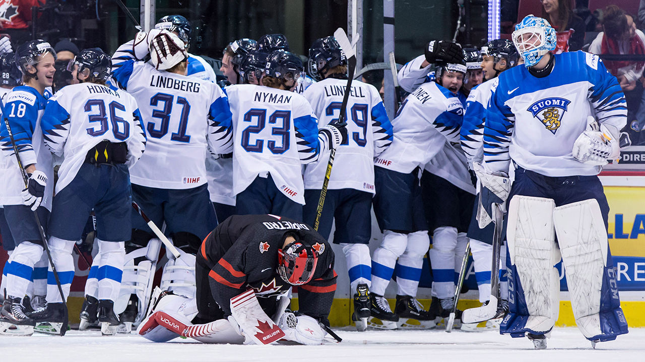 Finland Eliminates Canada With Quarterfinal Win At World Juniors