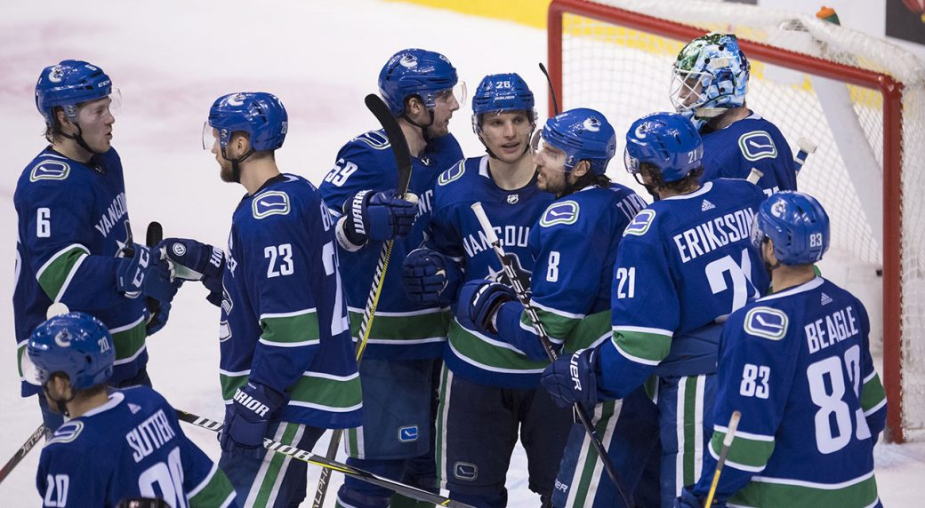 Canucks Leaning On Strong Camaraderie For Intense Playoff Push