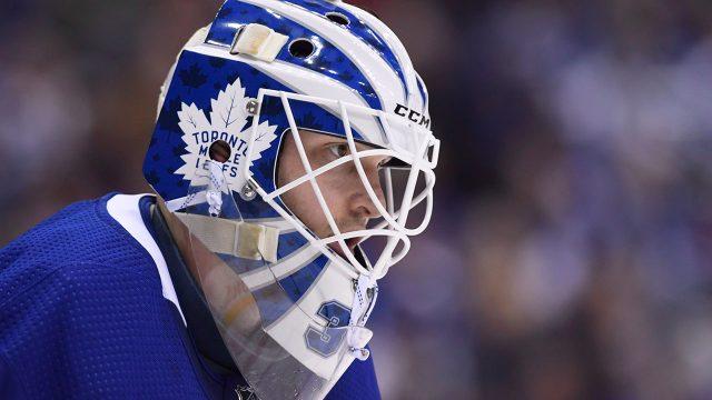 NHL-Maple-Leafs-Hutchinson-in-net