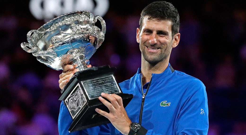 2020 Australian Open Men S Singles Official Tournament