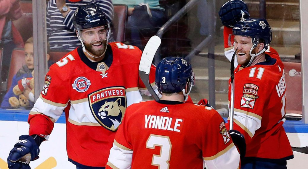 promo code 91386 a77ee 4 things we learned in the NHL: Panthers' Aaron Ekblad joins ...