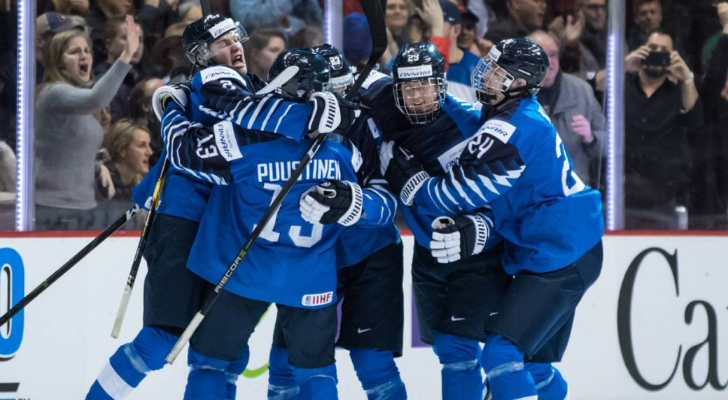 Finland Beats U S For Wjc Gold Medal Behind Kaapo Kakko S Late Goal