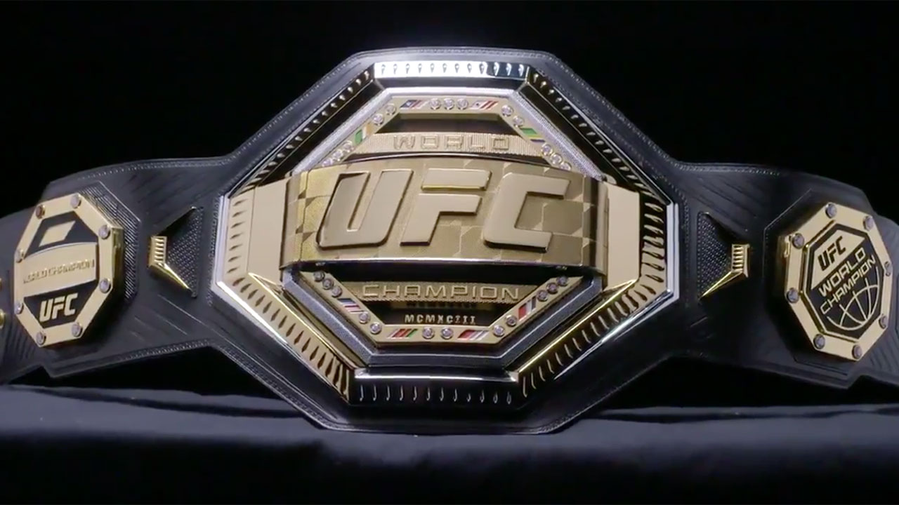 Ufc Unveils New Legacy Championship Belt Design Sportsnet Ca