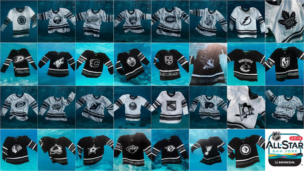 new style bce6d 4c5cc NHL teams unveil ocean-inspired jerseys for All-Star Weekend ...