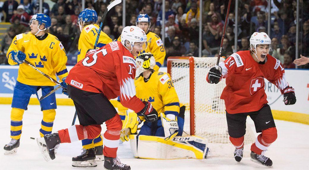 Switzerland Upsets Sweden In World Junior Quarterfinal Sportsnet Ca