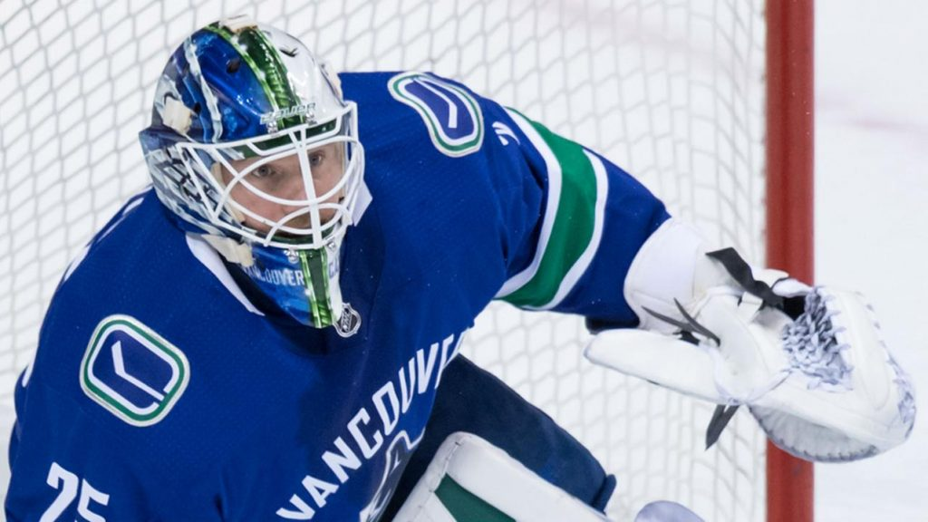 Markstrom Stands Tall As Canucks Top Flames In Shootout Sportsnet Ca