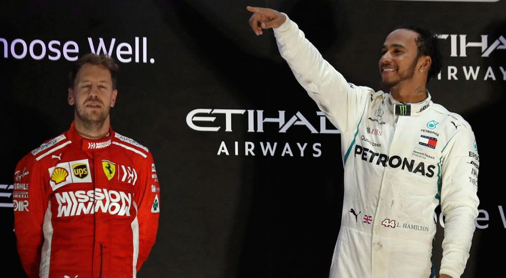 Hamilton-Noticing-Ferrari