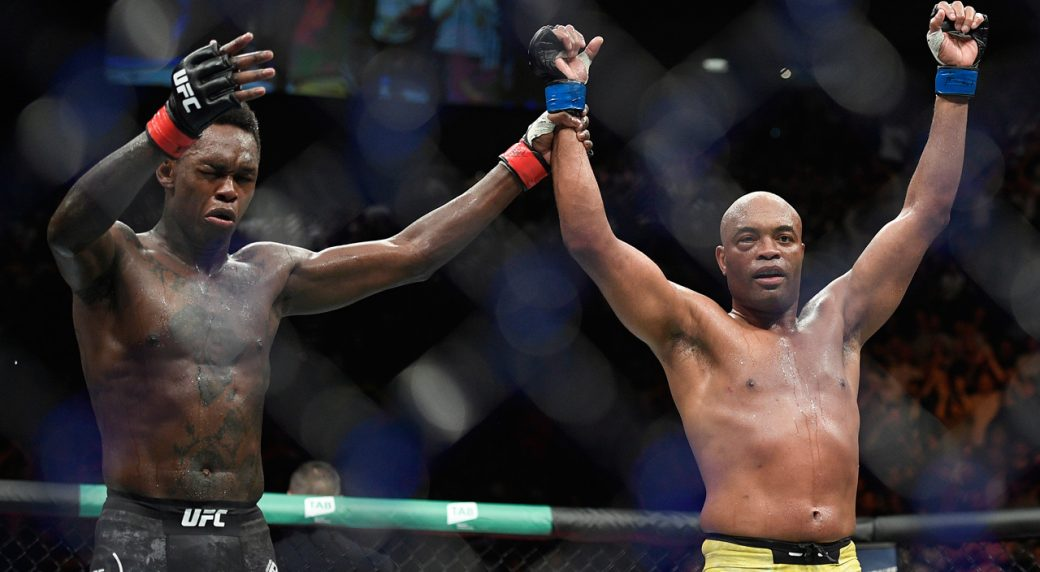 Israel-Adesanya-Anderson-Silva-react-after-ufc-234-main-event