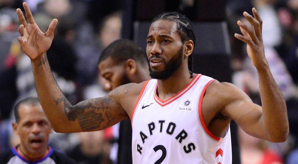 best loved 8debd 2ac41 Raptors' Kawhi Leonard out vs. Wizards with knee soreness ...