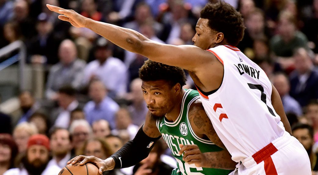 Brown helps lift Celtics over Raptors