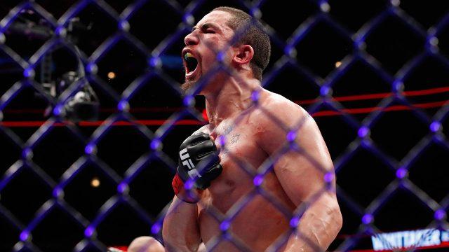 MMA-UFC-Robert-Whitaker-reacts-after-winning-title-fight