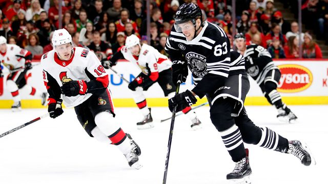 NHL-Blackhawks-Dahlstrom-skates-against-Senators