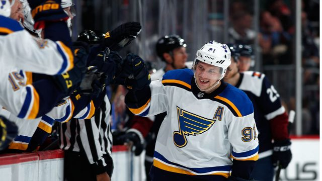 NHL-Blues-Tarasenko-celebrates-goal-against-Avalanche
