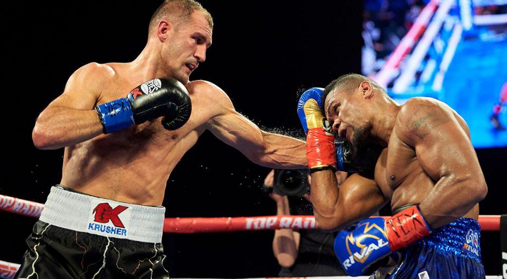 Sergey-Kovalev-punches-Eleider-Alvarez-in-rematch