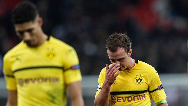 Soccer-Dortmund-Gotze-reacts-after-loss