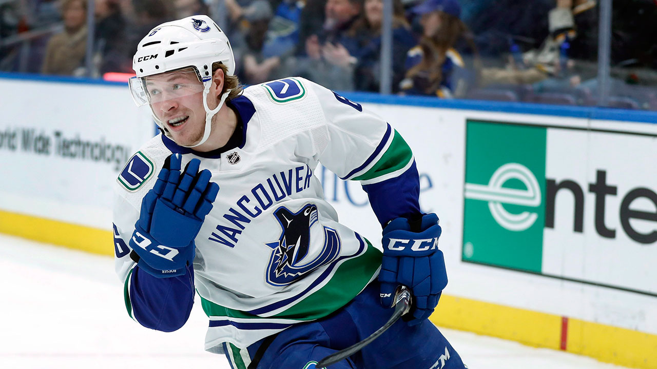 Christmas comes early for Canucks' fans, as Boeser is back in .
