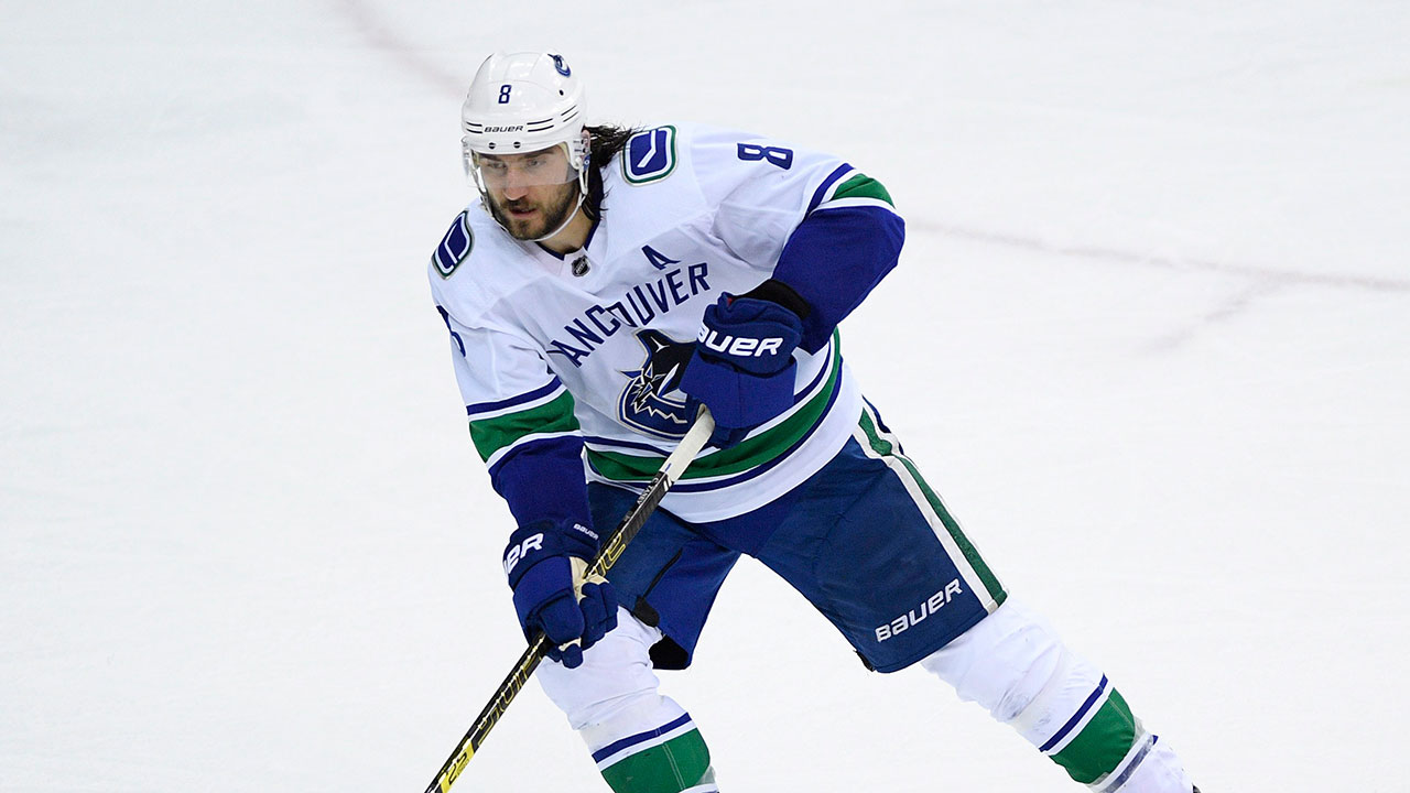 Canucks' Tanev chomping at the bit to get back at
