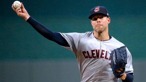 corey-kluber-throws-a-pitch-against-the-kansas-city-royals