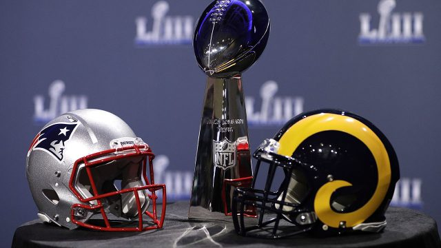 The-New-England-Patriots-and-Los-Angeles-Rams-will-face-off-in-Super-Bowl-53-in-Atlanta,-Ga.
