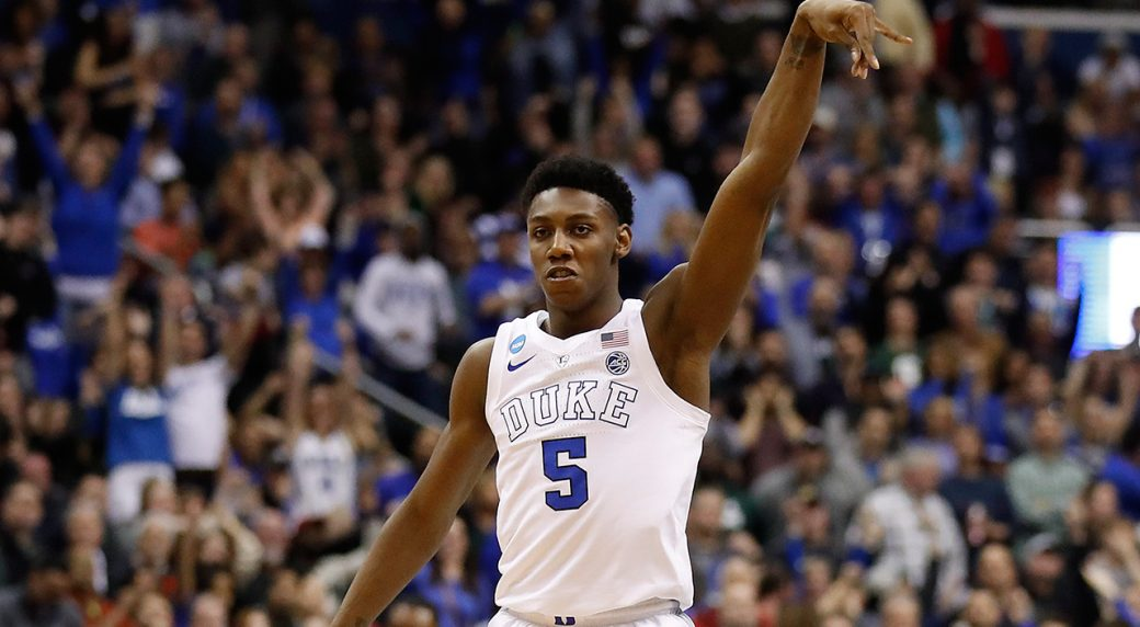 low priced ba784 4dcdd RJ Barrett's season of milestones for Duke ends with a thud ...