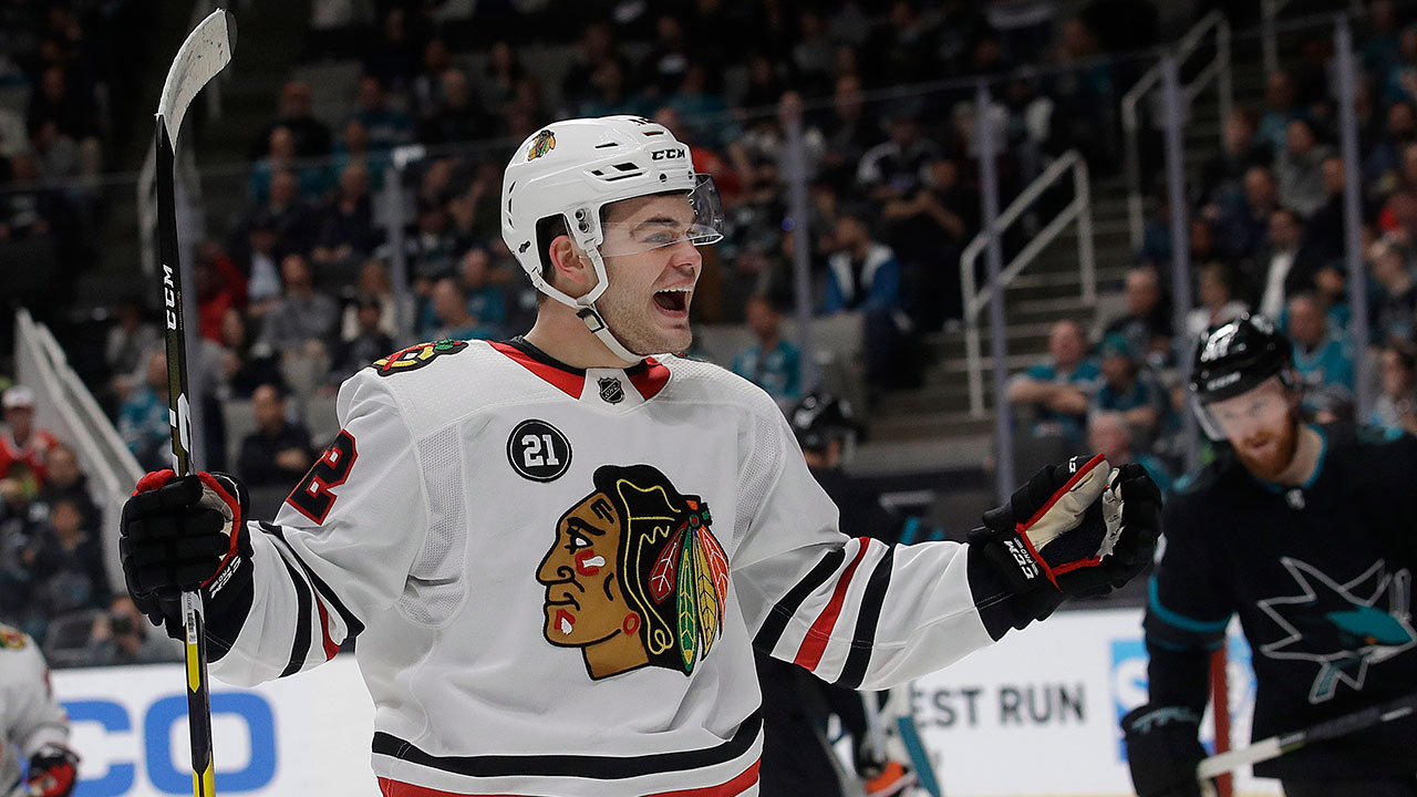 Year of the Cat. Chicago's DeBrincat gets three-year, $19.2M extension