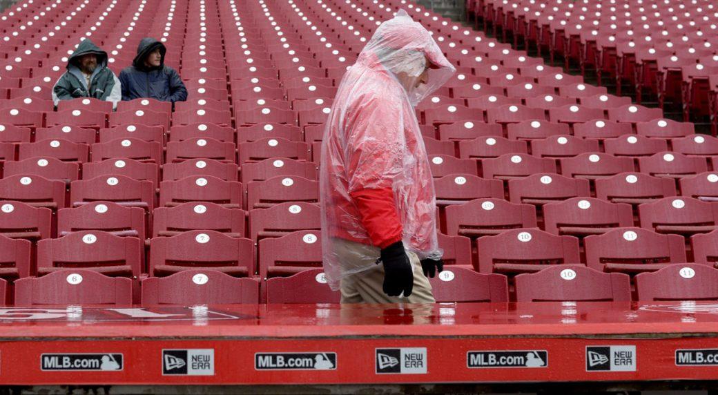 Pirates at Reds game postponed because of rain - Sportsnet ca