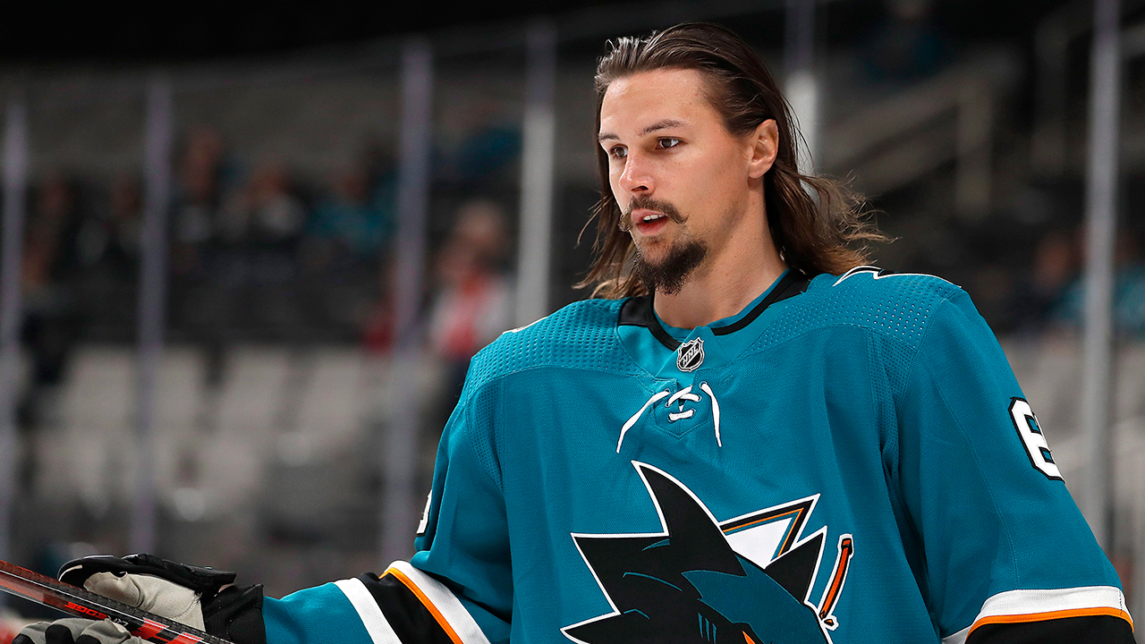 Sharks' Karlsson encourages others to come forward and support Kane's comments