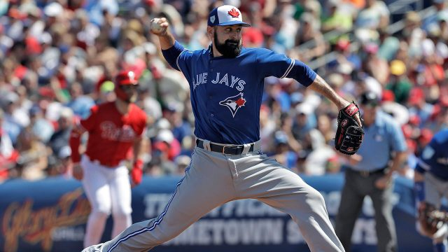 MLB-Blue-Jays-Shoemaker-throws-in-spring-training