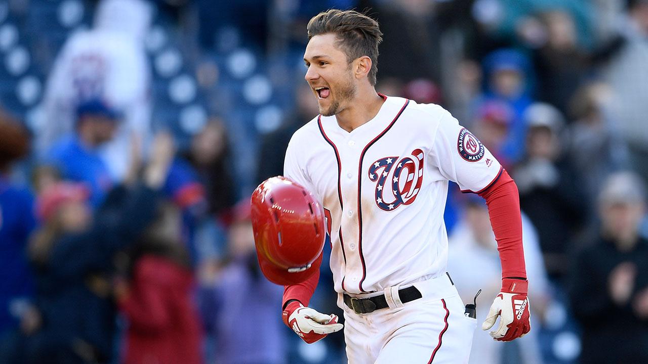 MLB-Nationals-Turner-celebrates-walk-off-home-run
