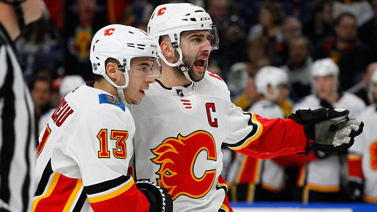 Flames off to a hot start with a big home win over the Canucks