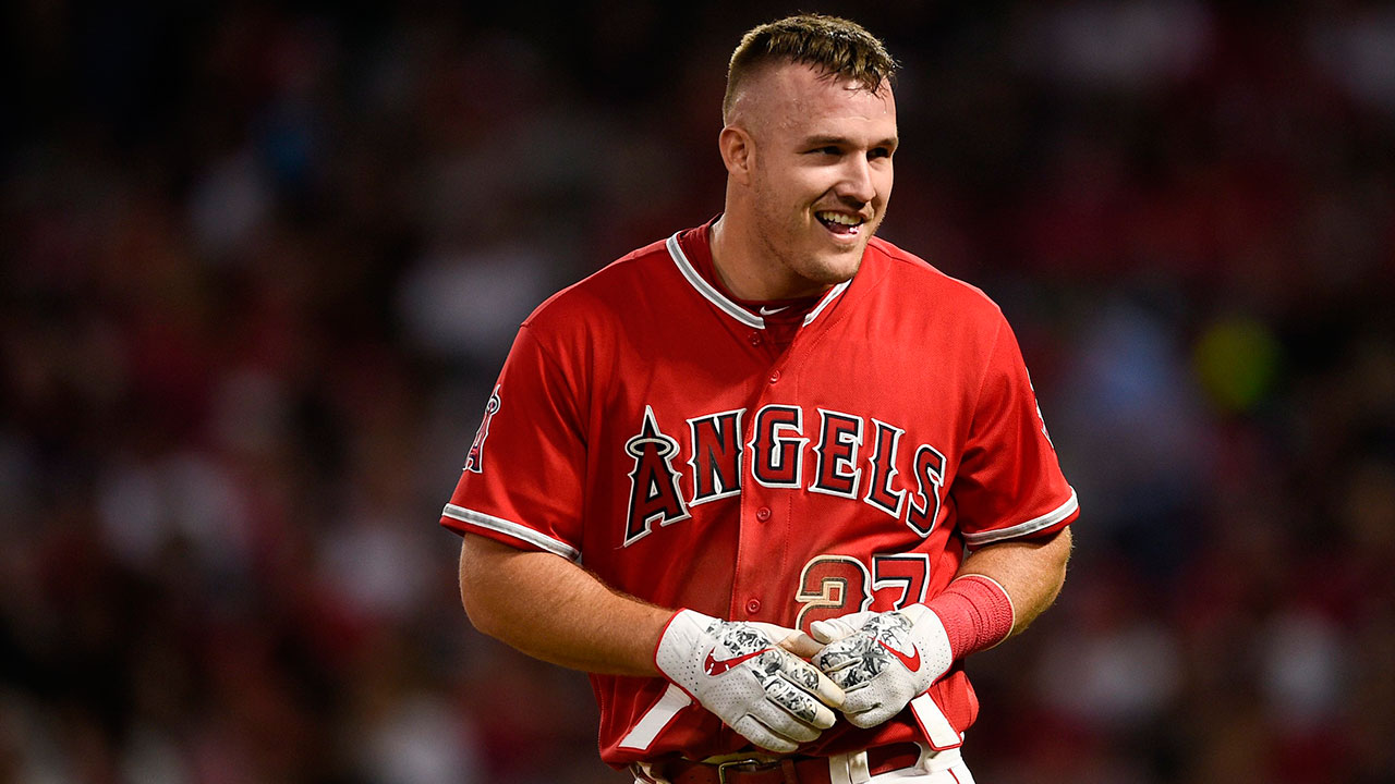 mike trout contract 2020