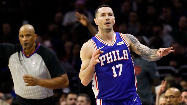 NBA-Redick-celebrates-after-three