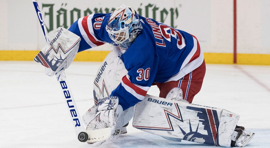 Lundqvist is on his way to the Capital on a one-year contract