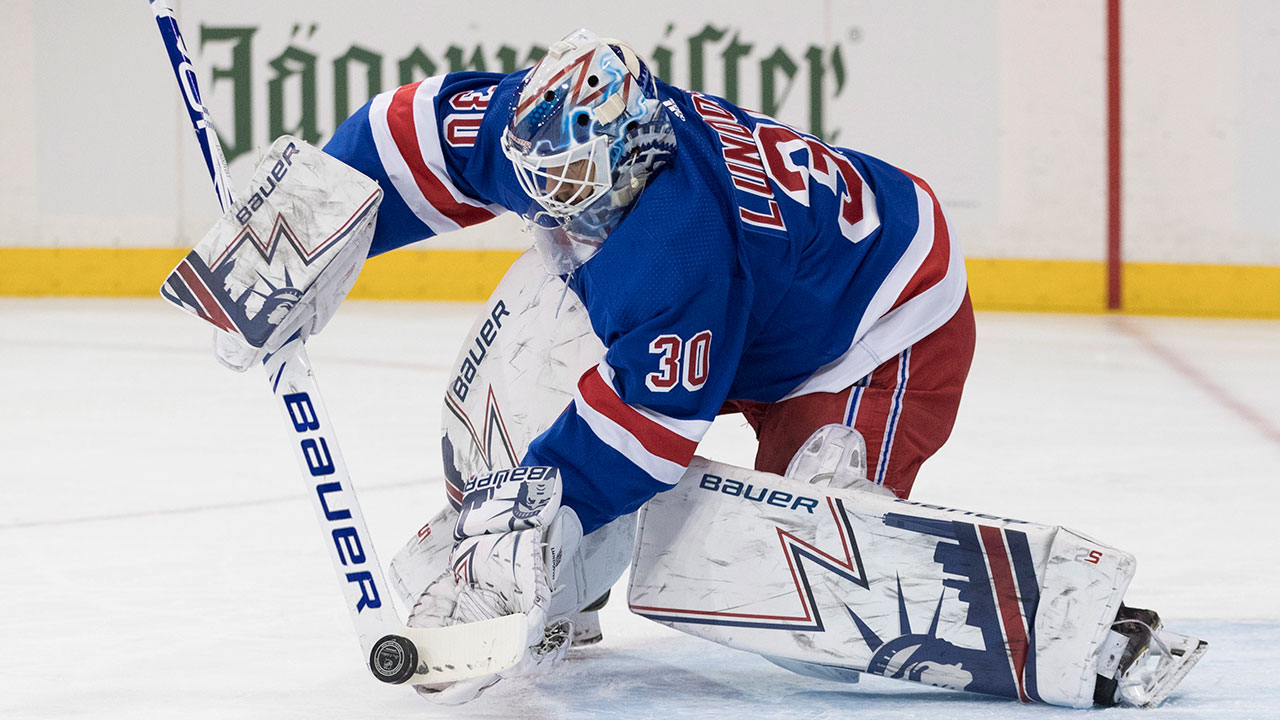 NHL-Rangers-Lundqvist-makes-save-against-Red-Wings