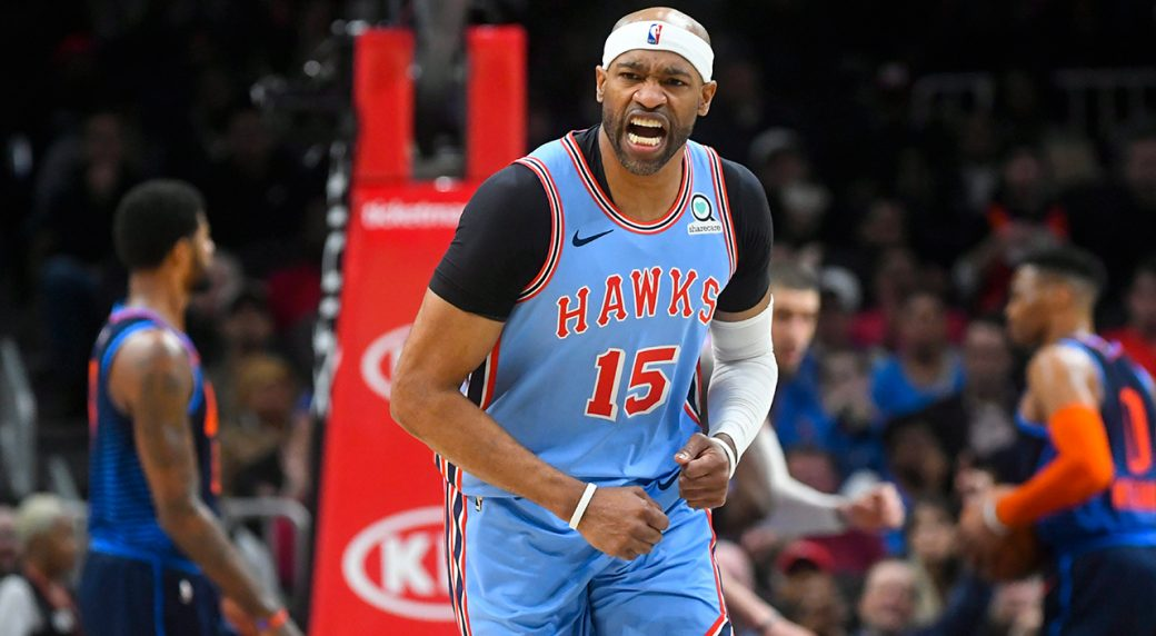 Atlanta Hawks re-sign veteran forward Vince Carter for his final season