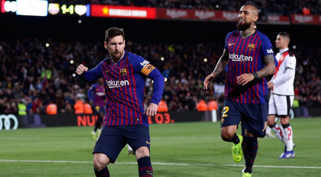 Messi Scores Assists As Barca Keeps Comfortable Liga Lead Sportsnet Ca