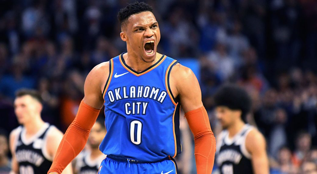 russell-westbrook-celebrates-a-shot-against-the-brooklyn-nets