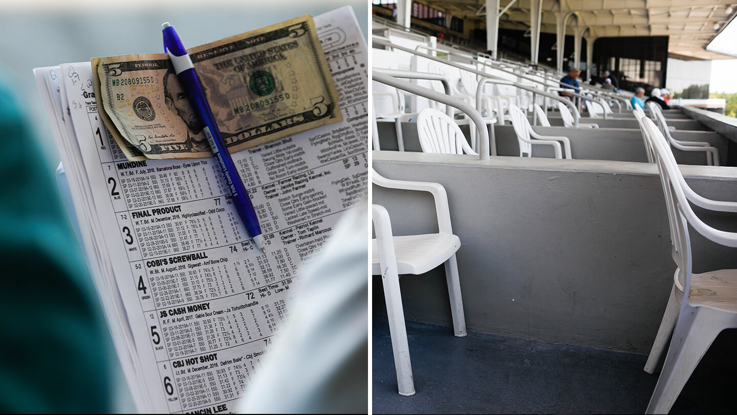 In the spiritual home of greyhound racing as the sport dies