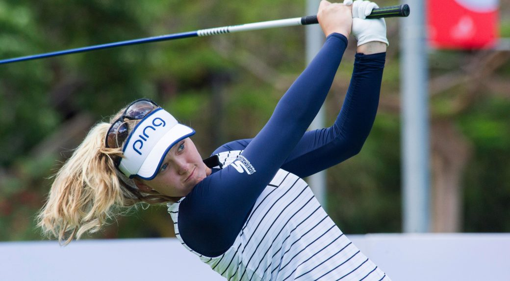 Canada's Henderson vaults into lead at Meijer LPGA Classic