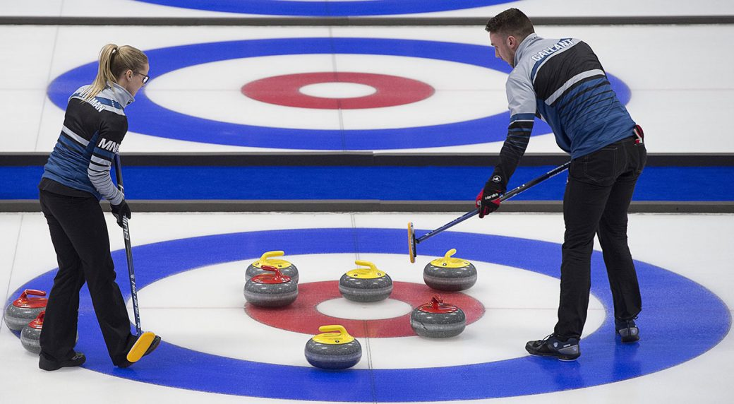 Canada continues to roll at world mixed doubles championship