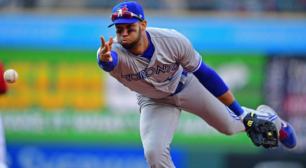 MLB-Blue-Jays-Lourdes-Gurriel-Jr-throws-ball