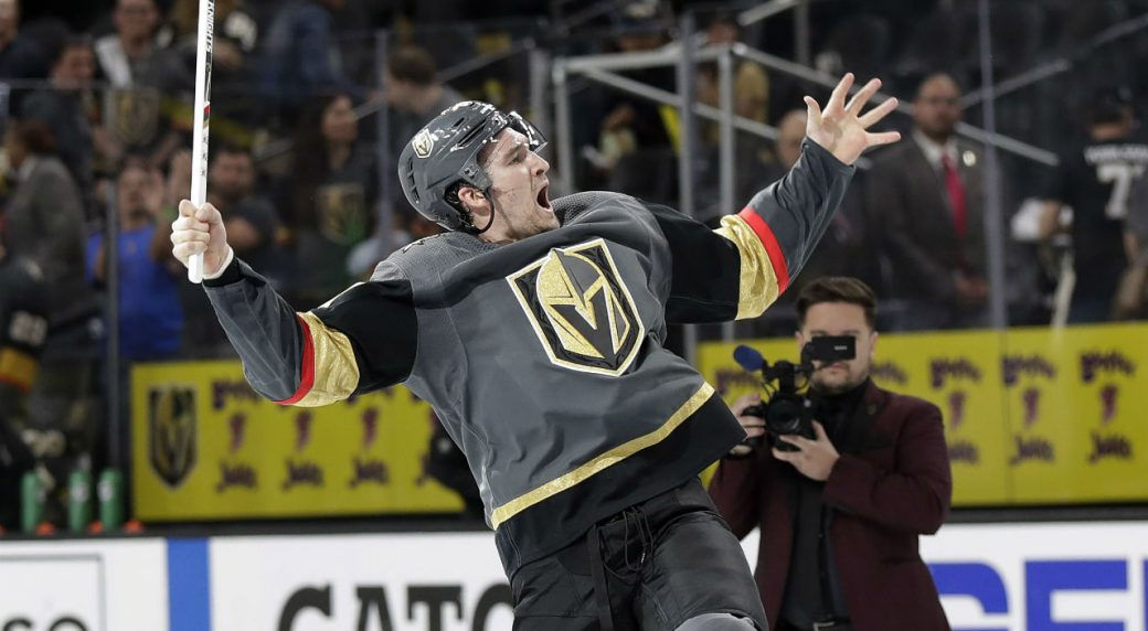 Golden Knights name Stone 1st captain in franchise history