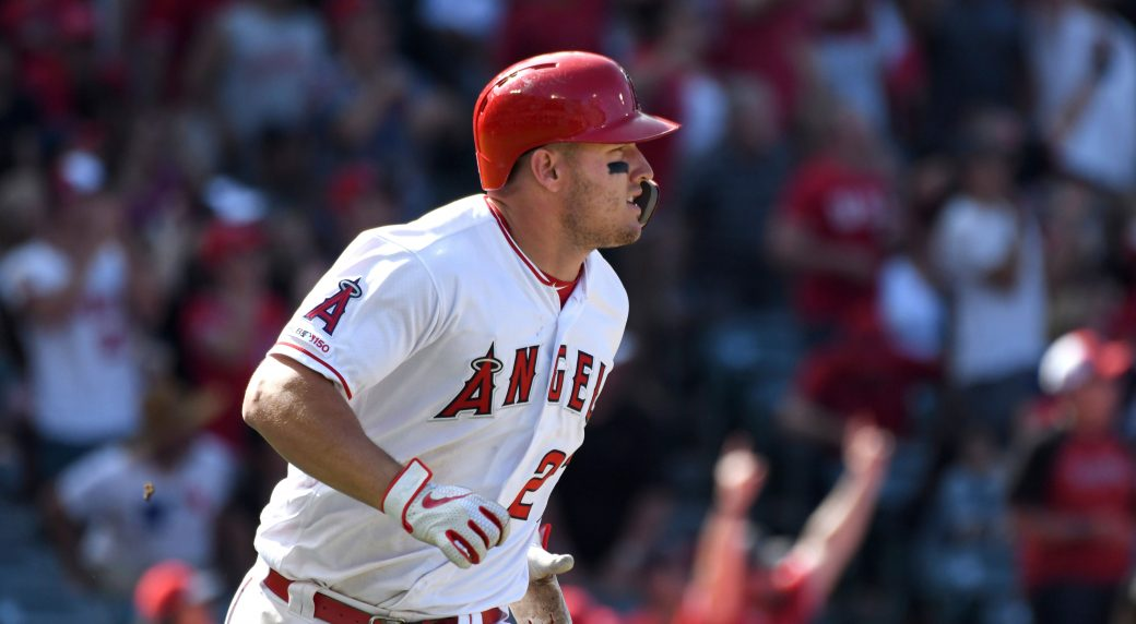 Trout joins elite list with third AL MVP honor
